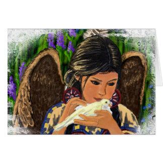 Native American Angel Notecard