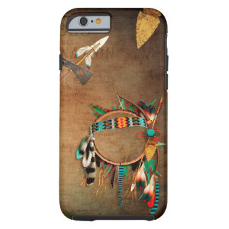 Native American arrowhead Indian Tough iPhone 6 Case