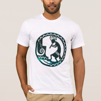 Native American art on American apparel t-shirt