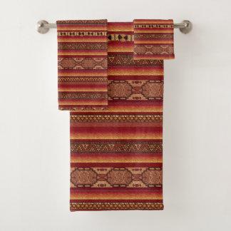 Native American Bath Towel Set