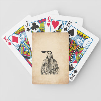 Native American Bicycle Playing Cards