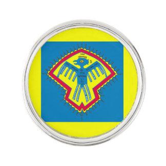 Native American bird symbol Lapel Pin