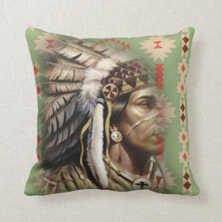 Native American Brave Cushion