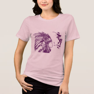 Native American Brave Woman T-shirt