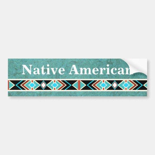 Native American BUMPER STICKER Car Bumper Sticker