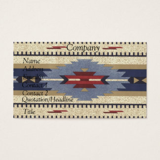 Native American Calendar 2012 Business Card