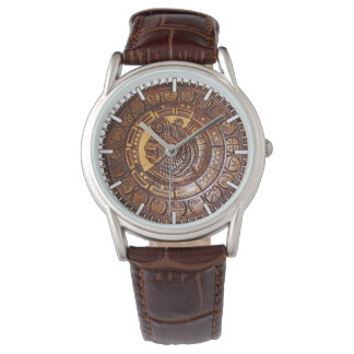 Native American Calendar Wristwatch