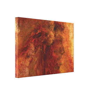 Native American Canvas Wrap Wall Decor