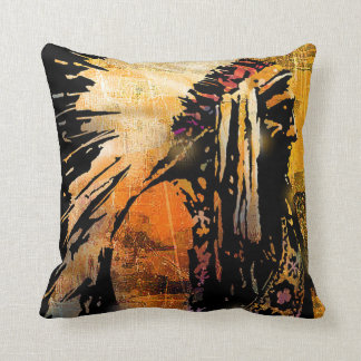 Native American Chief Cushion