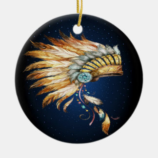 Native American Chief Headdress Ornament