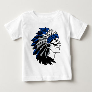 Native American Chief with Red Headress Baby T-Shirt