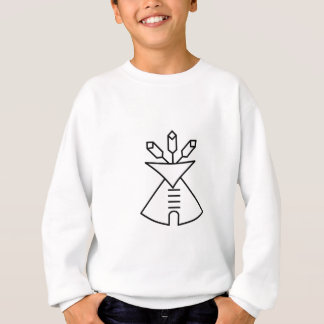 Native American Church Symbol Sweatshirt