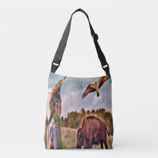 Native American CrossBody and Tote Bag
