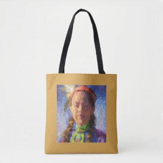 Native American Dancer Tote Bag