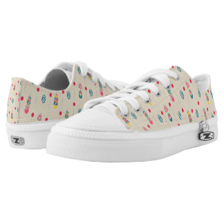 Native American design Low Top Shoes US-Women