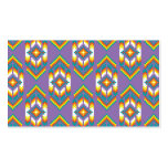 Native American Design Purple Pack Of Standard Business Cards