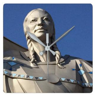 "Native American ""Dignity"" Wall Clock"