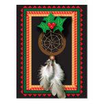 Native American Dream Catcher Postcard