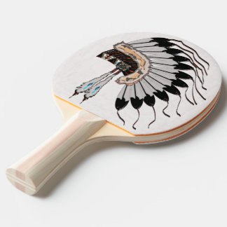 Native American Dressings Ping Pong Paddle