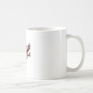 Native American eagle Basic White Mug