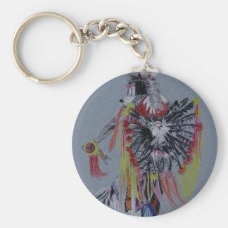 Native American Fancy Dancer Key Ring