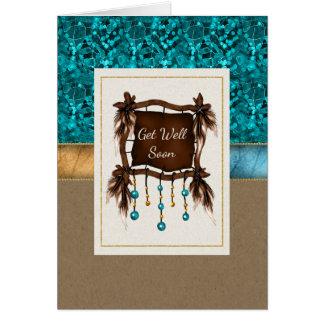 Native American Get Well Soon Card