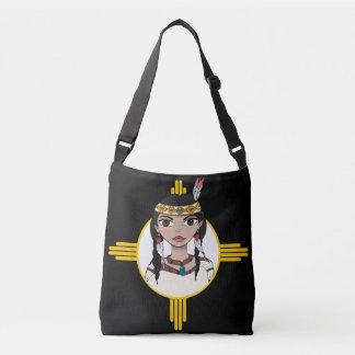 Native American Girl designed bag