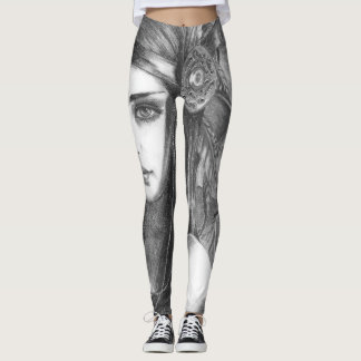 Native American Goddess Leggings