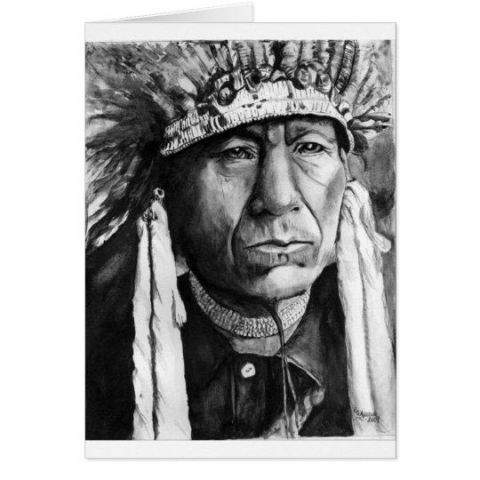 native american greeting card  zazzle, Greeting card