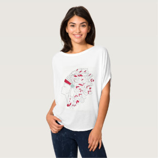 Native American Headdress T-Shirt