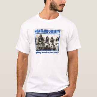 Native American Homeland Security T-shirts