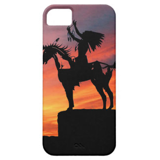 Native American Indian and horse Case For The iPhone 5