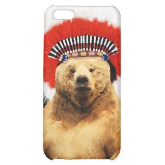 Native American Indian Bear! iPhone 5C Case