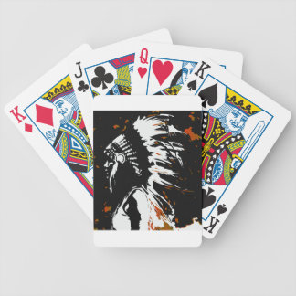 Native American Indian Bicycle Playing Cards