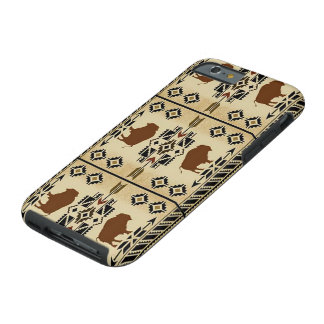 Native American Indian Buffalo Blanket Phone Cover