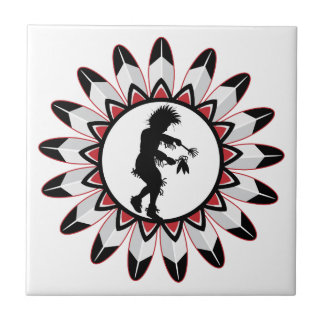 Native American Indian Dance Tile