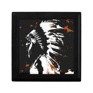 Native American Indian Gift Box