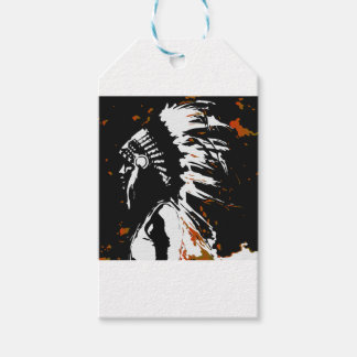 Native American Indian Gift Tags
