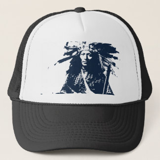 "Native American Indian ""Little"" 1890 Trucker Hat"