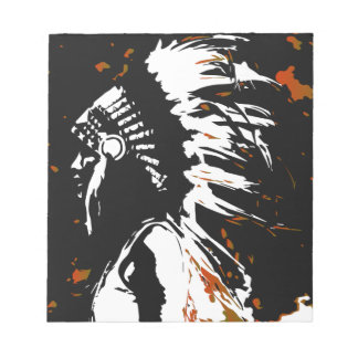Native American Indian Notepad
