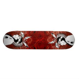Native American Indian Profile Skateboard