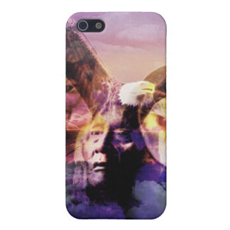 Native American Indian Warrior iPhone 5 Case
