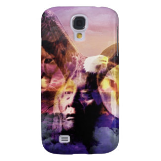Native American Indian Warrior Samsung Galaxy S4 Case