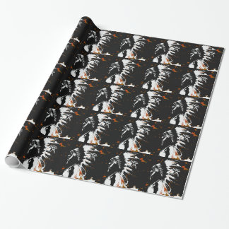 Native American Indian Wrapping Paper