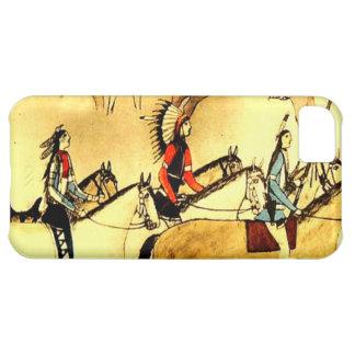 Native American Indians Primitive Art Iphone Case