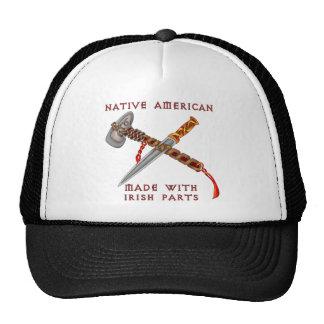 Native American/Irish Trucker Hat