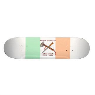 Native American/Irish Custom Skate Board