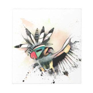 Native American Kachina Dancer Notepad