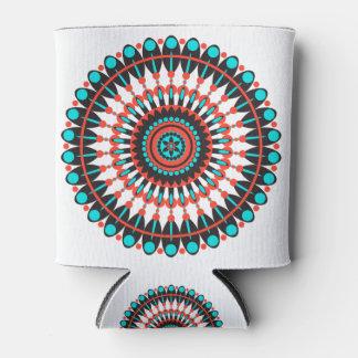 Native American Mandala Can Cooler