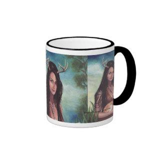 Native American Mug American Indian Mug Deer Woman